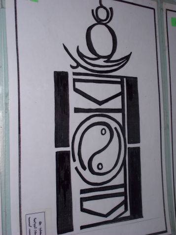 Soyombo script picture.
