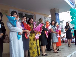 Primary school teachers get special recognition. And flowers.