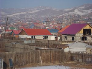 Ger district outside UB.