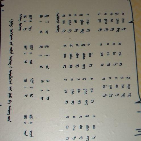 Ali Gali script.