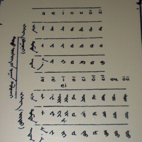 Tod script letters.