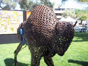 Scottsdale Arts Festival Buffalo Sculpture - Two Second Street - www.twosecondstreet.com