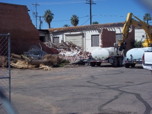 Circles Records Demolition - Two Second Street - www.twosecondstreet.com