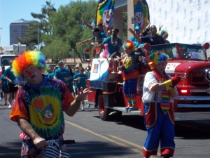Phoenix Pride Clowns - Two Second Street - www.twosecondstreet.com