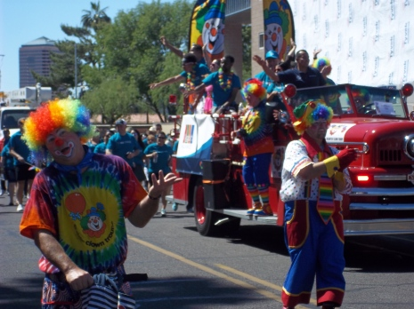 Phoenix Pride Clowns - Two Second Street - www.twosecondstreet.com