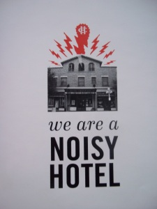 Noisy Hotel - Two Second Street - www.twosecondstreet.com
