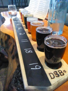 Dark Sky Brewery Flight - Two Second Street - www.twoseondstreet.com