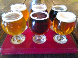 Historic Brewing Company Flight - Two Second Street - www.twoseondstreet.com