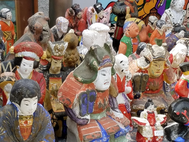 Antique Statues - Two Second Street - www.twosecondstreet.com
