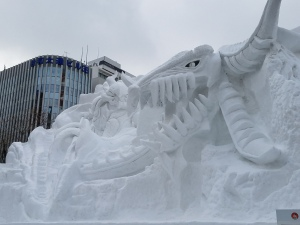 Final Fantasy Snow Sculpture 3 - Two Second Street - www.twosecondstreet.com