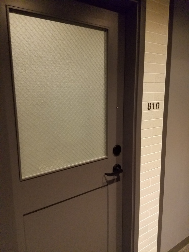 Moxy Osaka Room Door - Two Second Street - www.twosecondstreet.com