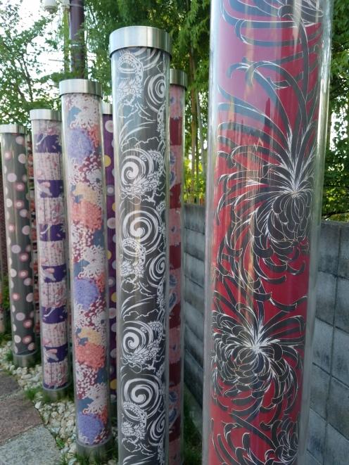 Kimono Forest Pillar - Two Second Street - www.twosecondstreet.com