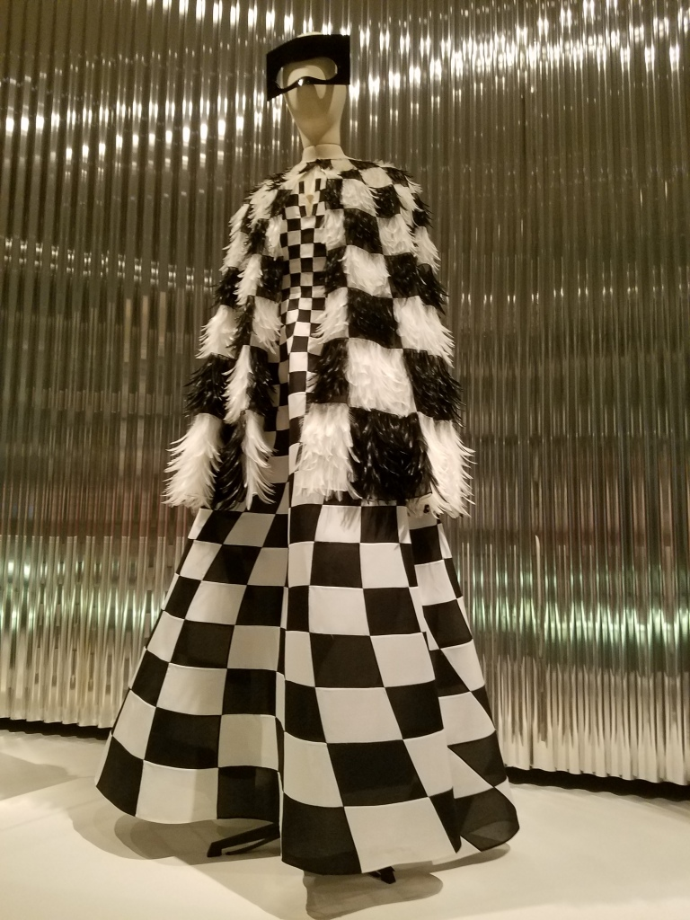 Dior Checkered Dress - Two Second Street - www.twosecondstreet.com