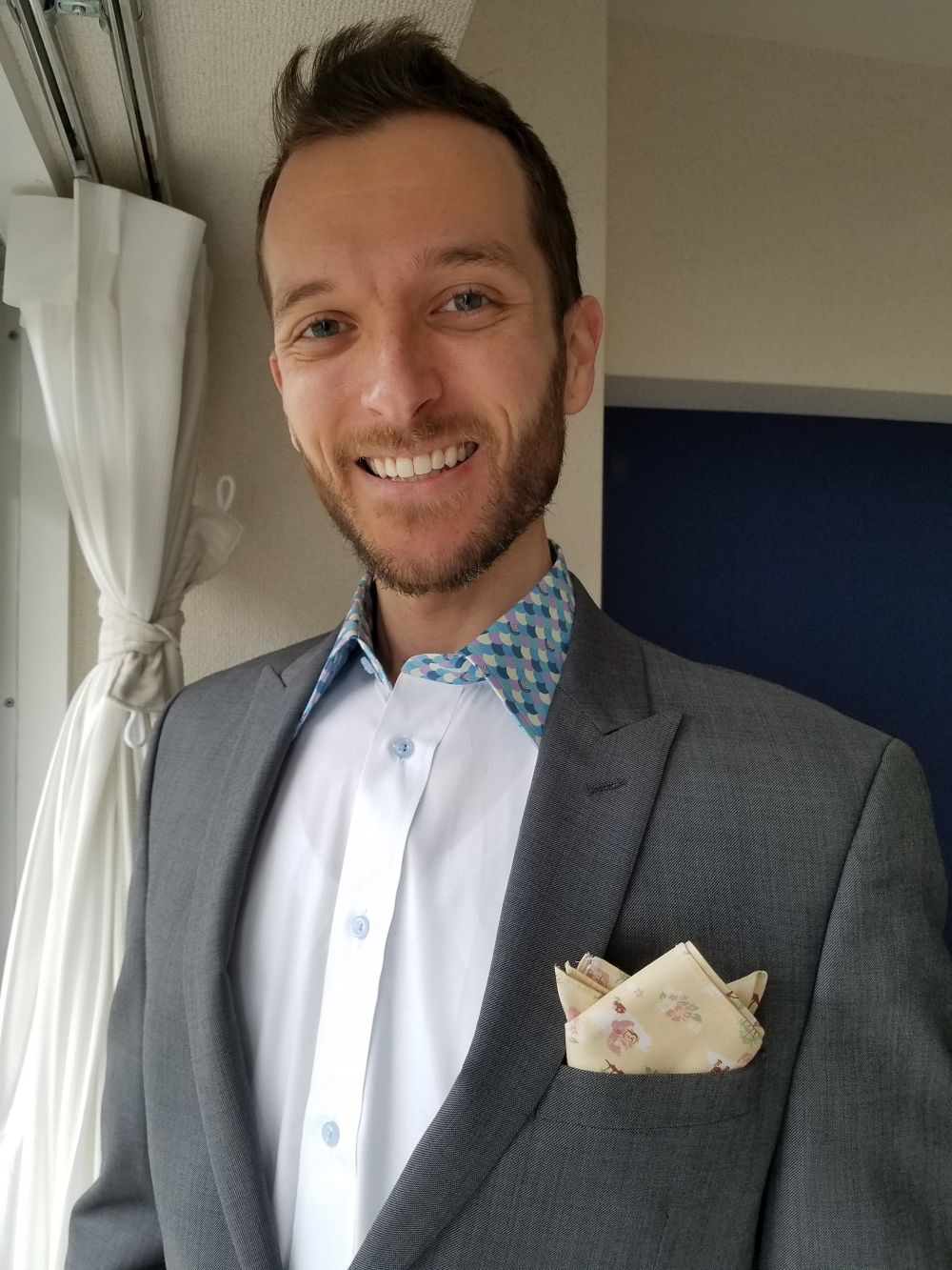 Shirt Pocket Square Combo - Two Second Street - www.twosecondstreet.com